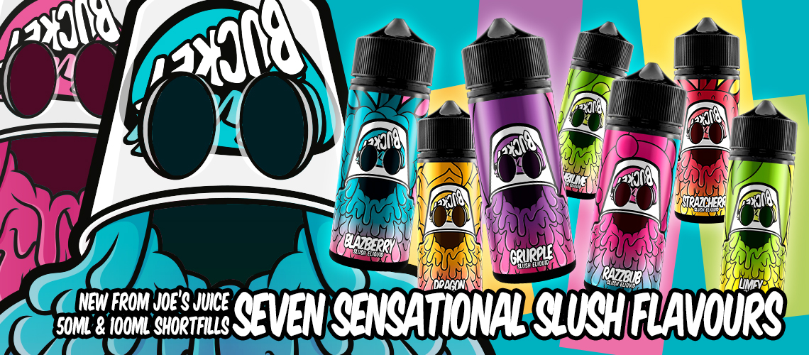 Slush Bucket, Slush E Liquid Range